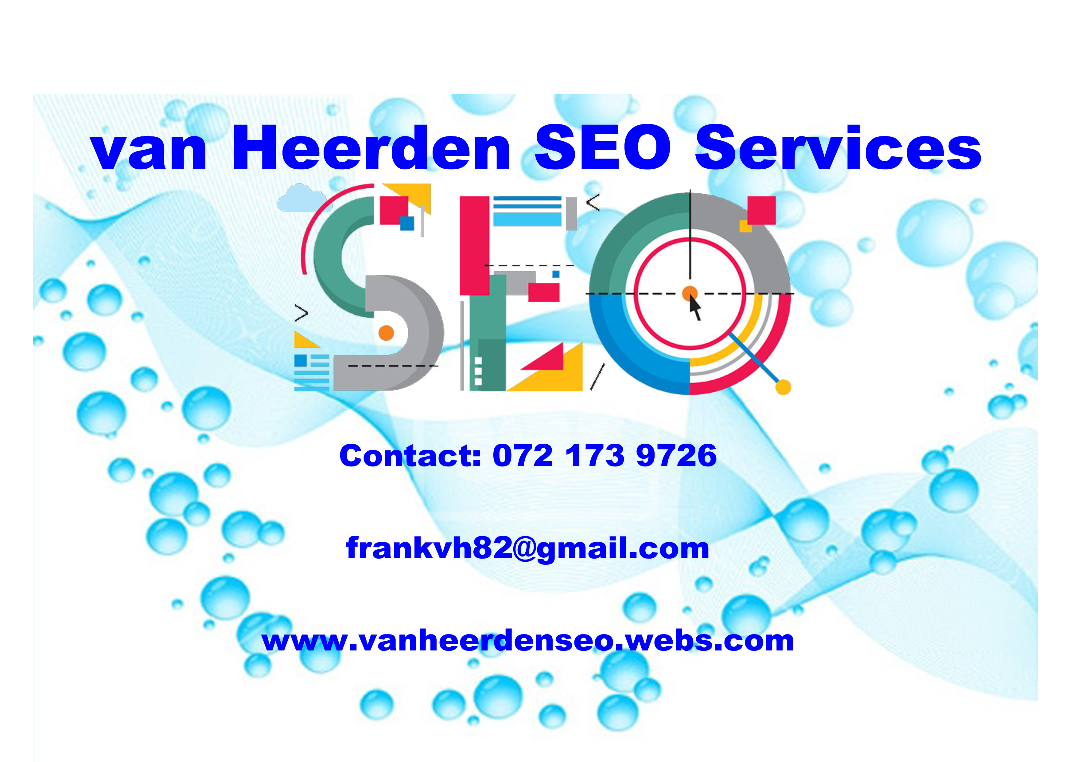 Van Heerden SEO Services - Christian Business Network South Africa Directory